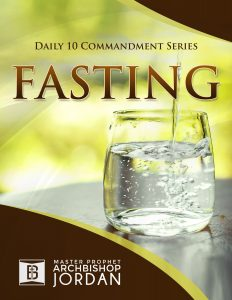 10 Commandments in the Book of Fasting