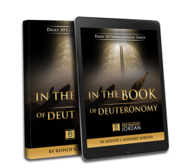 IN THE BOOK OF DEUTRONOMY